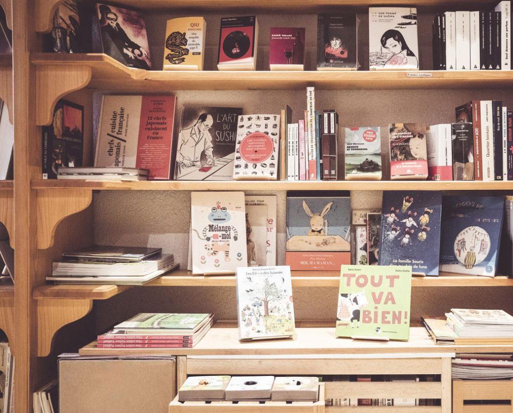 Littérature jeunesse dans la librairie Le Petit Prince à Morges