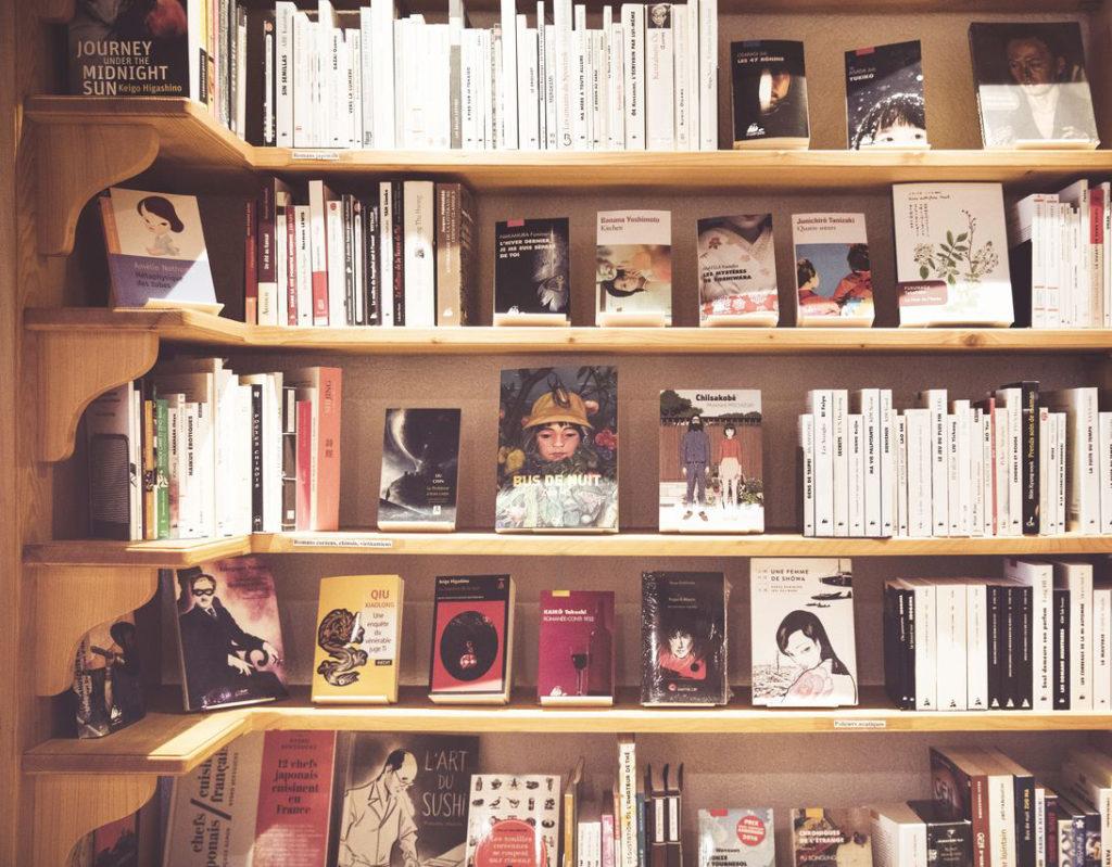 Littérature d'extrême-Orient dans la librairie le Petit Prince à Morges